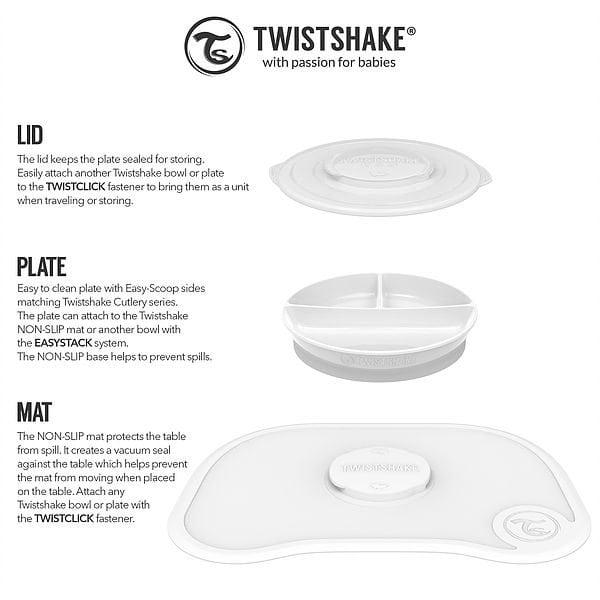 Twistshake Click Mat + Plate