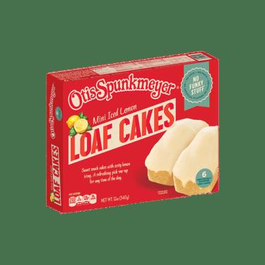 Otis Spunkmeyer's Iced Lemon Mini Loaf Cakes