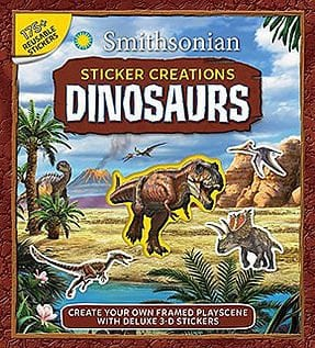 Smithsonian Sticker Creations: Dinosaurs by Silver Dolphin Books