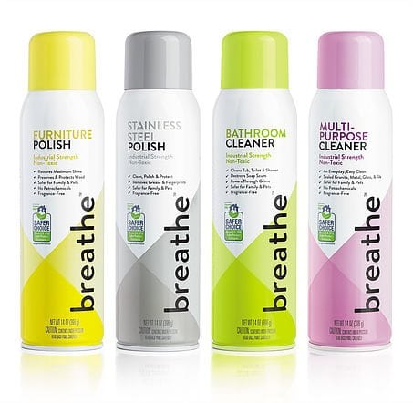 Breathe Household cleaners