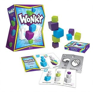 USAopoly® Wonky: The Crazy Cubes Card Game
