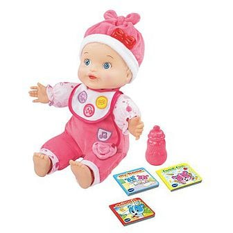 BABY AMAZE LEARN TO TALK & READ BABY DOLL by VTech