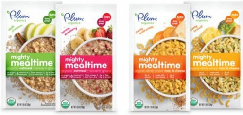 Plum Organics Mighty Mealtime