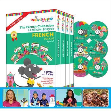 The French Collection (Boxed set of DVDs and CDs)