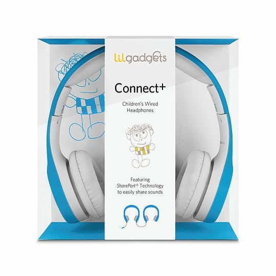 Connect+ Children's Wired Headphones with SharePort by LilGadgets