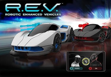 R.E.V. (Robotic Enhanced Vehicles) by WowWee