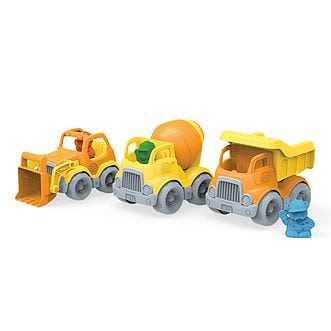 Green Toys Mini Construction Vehicles by Green Toys