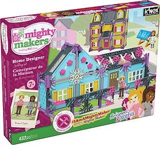 Mighty Makers: HOME DESIGNER BUILDING SE by K'NEX Brands