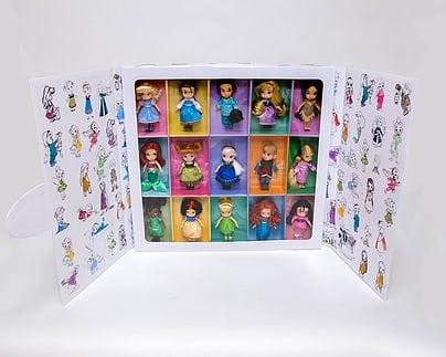 Deluxe Mini Animator Doll Set by The Walt Disney Company