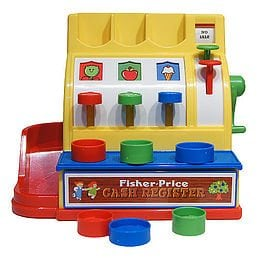 Fisher-Price Classics: Cash Register by The Bridge Direct