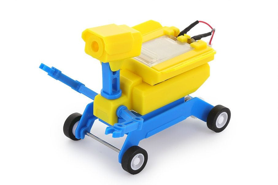 GEO Salt Water / Solar Powered Robot