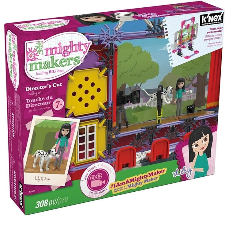 Mighty Makers Director's Cut Building Set by K'NEX Brands
