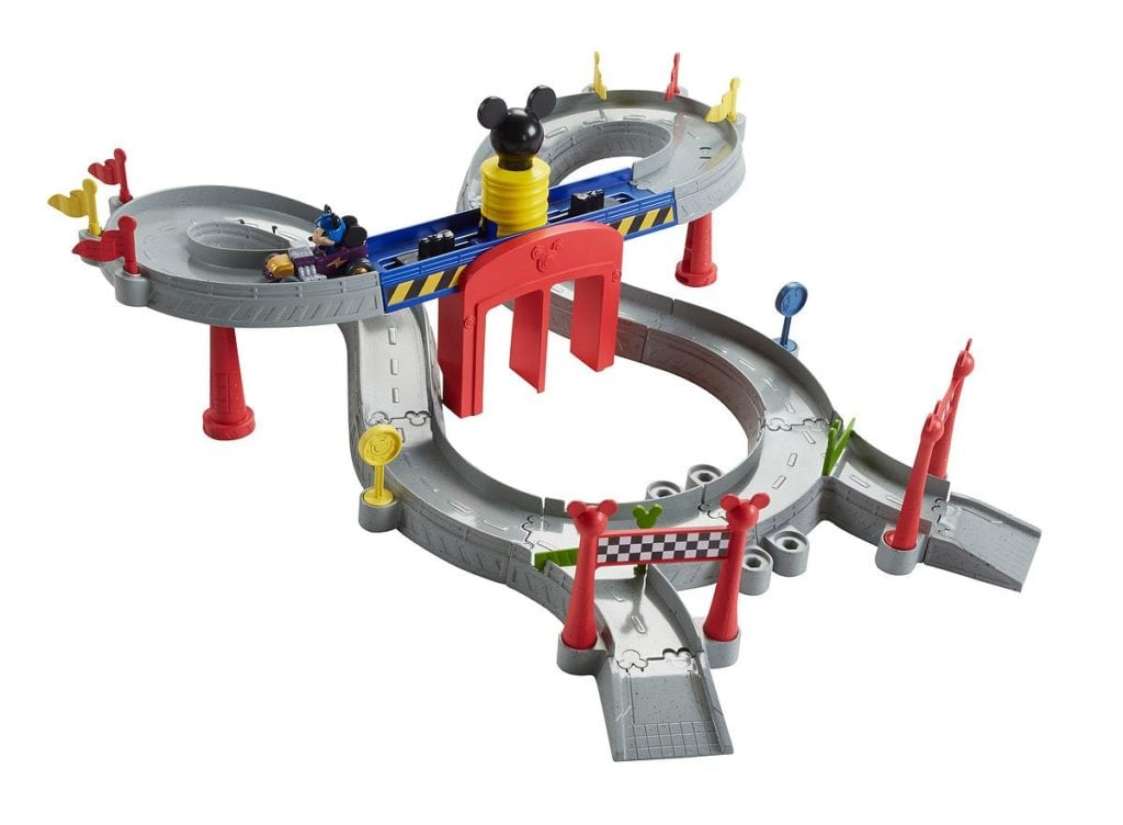 mickey mouse clubhouse mickey ears raceway