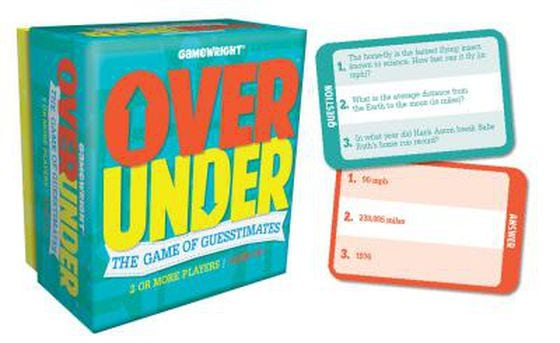 Over/Under by Gamewright