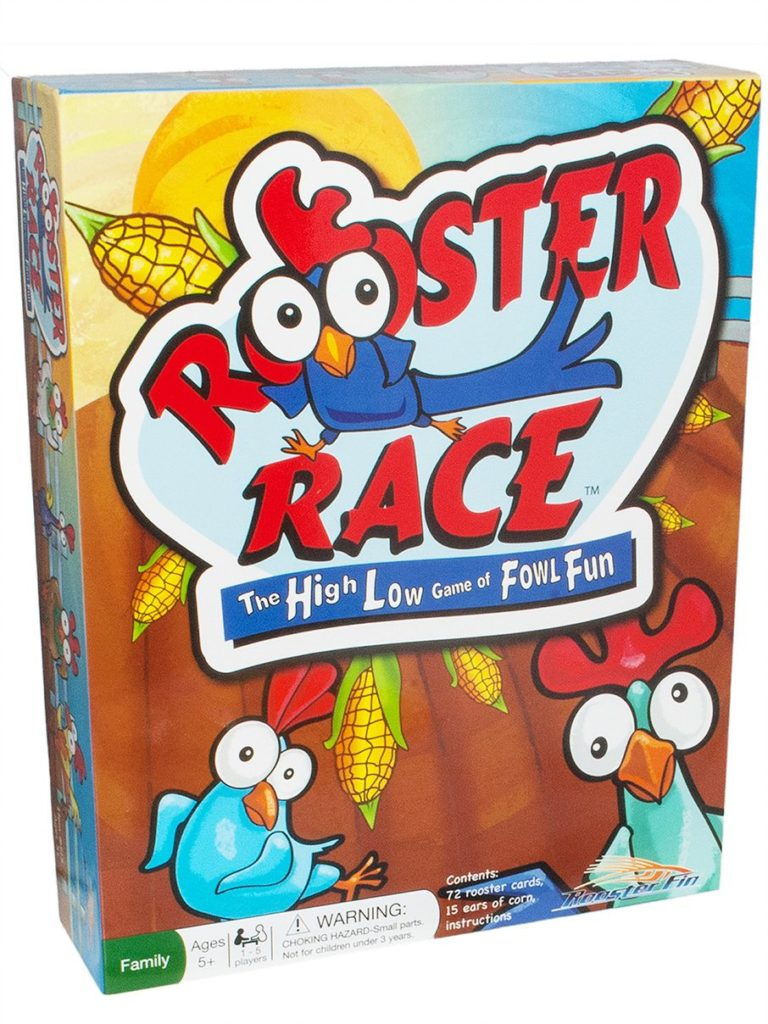 Rooster Race Board Game