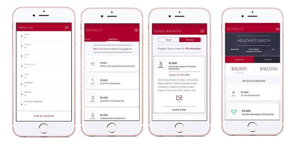 Scholly Mobile Application