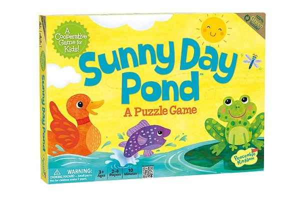 Sunny Day Pond by Peaceable Kingdom