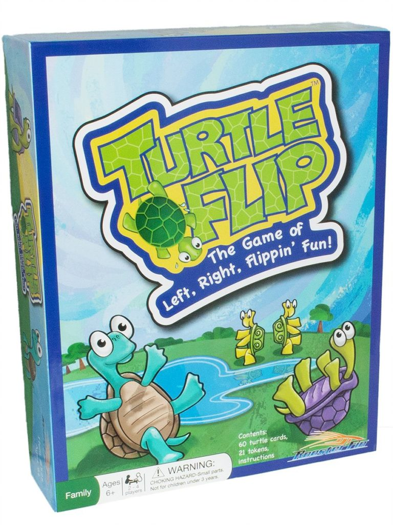 Turtle Flip Board Game