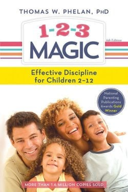 1-2-3 Magic- Effective Discipline for Children 2-12 by Sourcebooks, Inc.