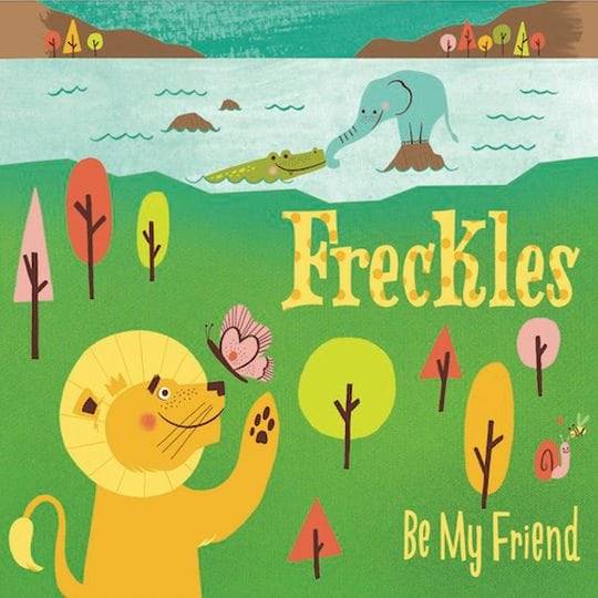"""Freckles """"Be My Friend"""" CD by Freckles"""