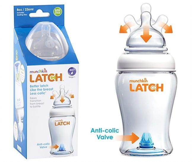 LATCH 4oz Bottle by Munchkin