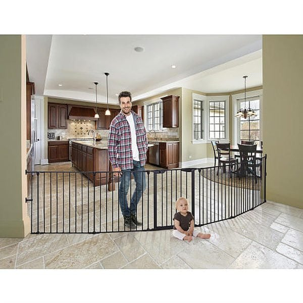 Mayfair Converta 3-in-1 Playpen and Wide Barrier Gate by Dreambaby