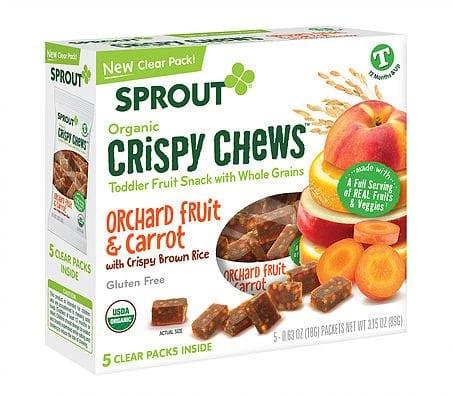 Sprout Organic Crispy Chews