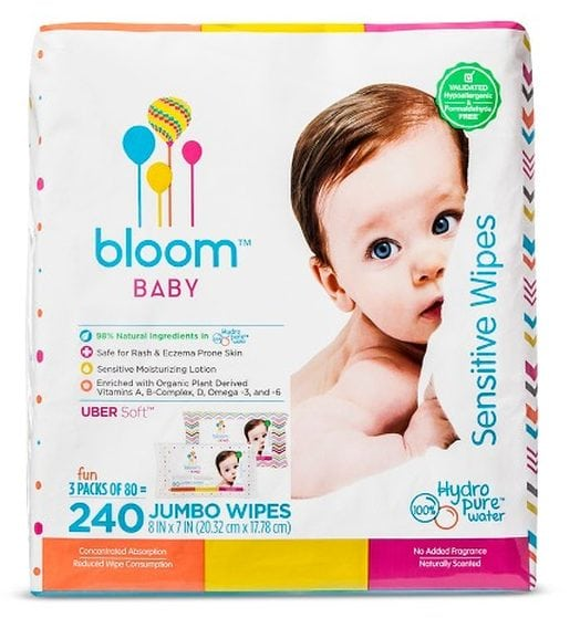 bloom BABY Sensitive Wipes by bloom+KIND CO.