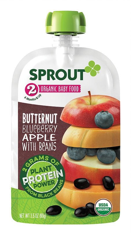 Sprout Stage 2 Organic Baby Food Purees