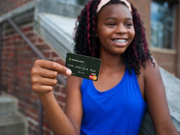 Greenlight debit card for kids
