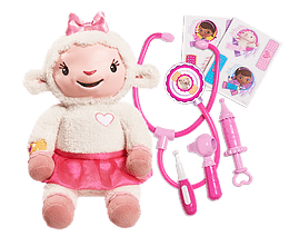 Doc McStuffins Take Care of Me Lambie by Just Play