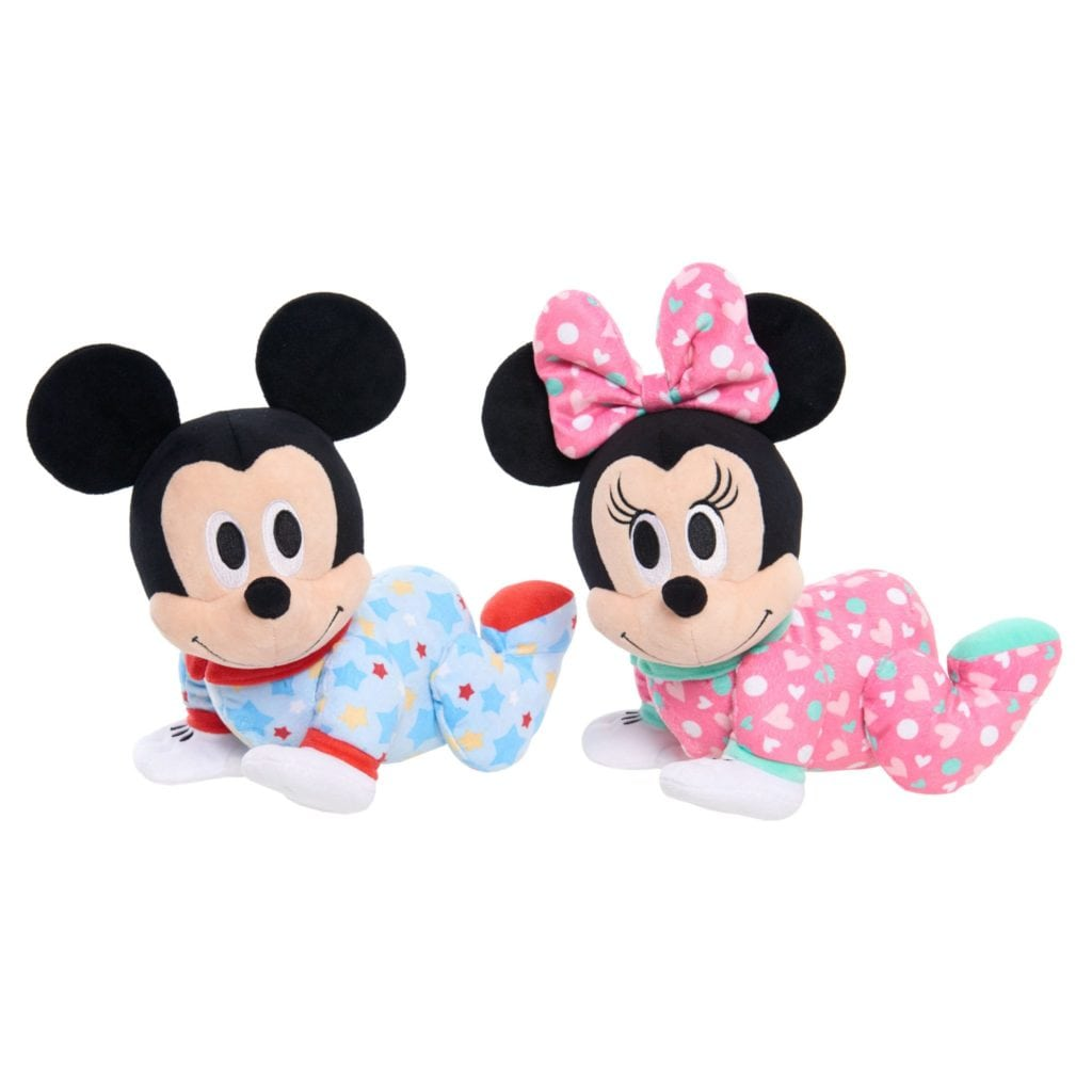 Disney Baby Mickey Mouse And Minnie Mouse Musical Crawling Pals
