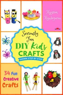 Seriously Fun DIY Kids Crafts