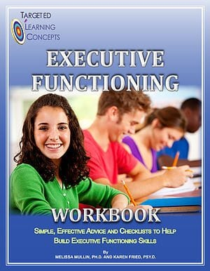 Executive Functioning Workbook by The K&M Center, Inc.