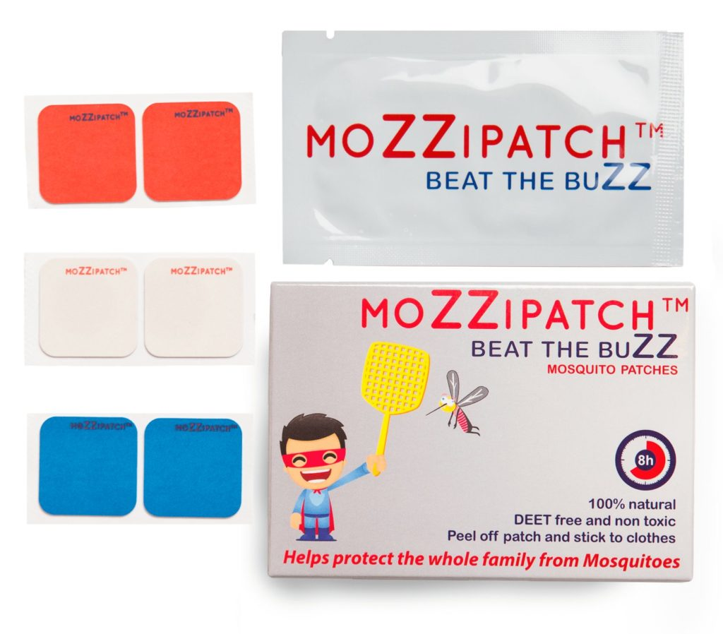 MoZZipatch All-Natural Mosquito Repellent Patches