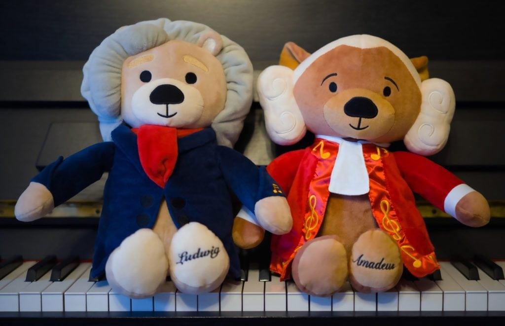 Virtuoso Bears (Amadeus and Ludwig)
