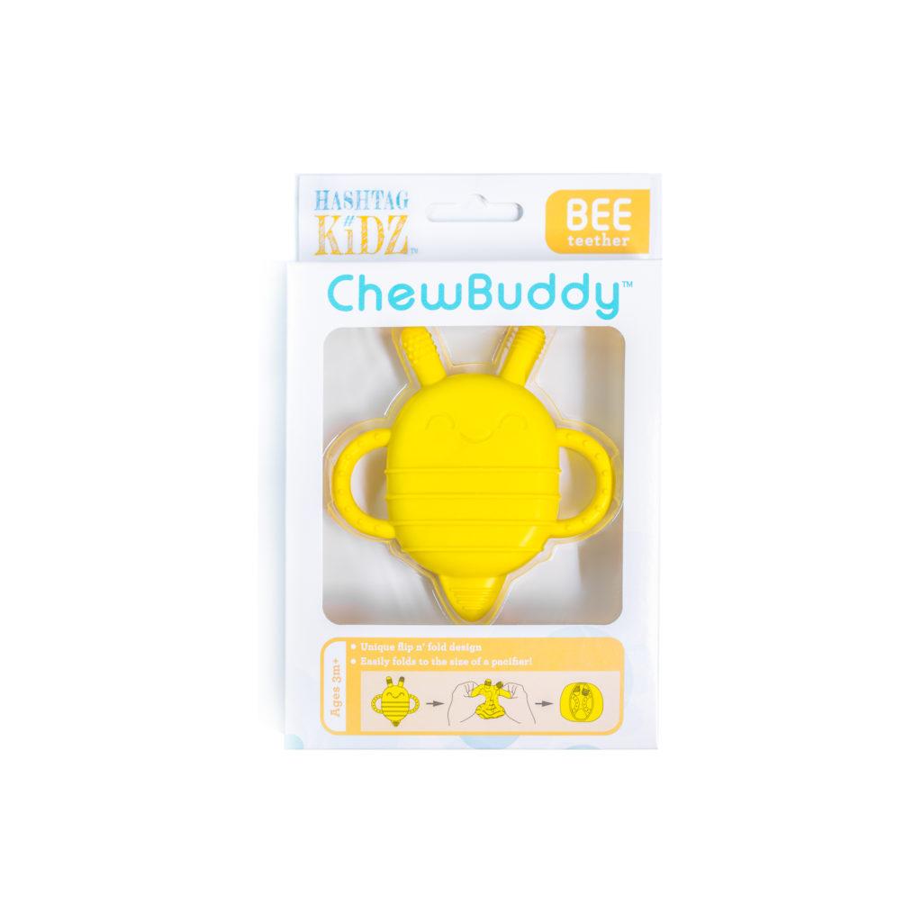 Hashtag Kidz ChewBuddy Bee Teether
