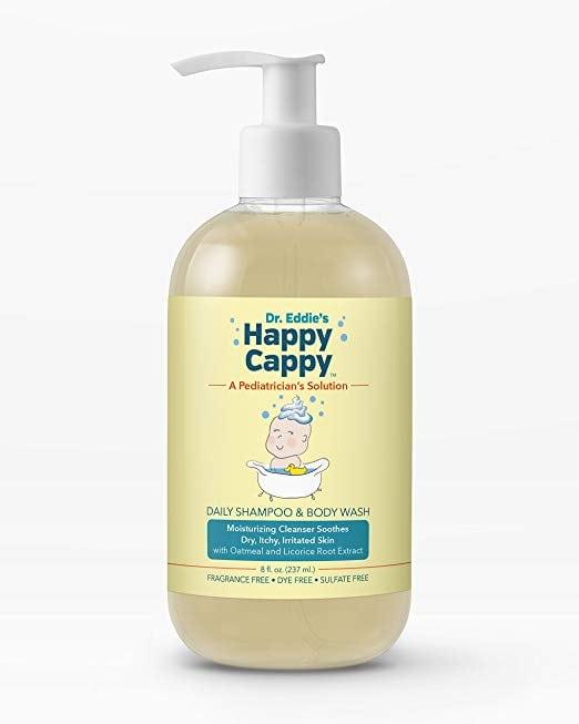 Dr. Eddie's Happy Cappy Daily Shampoo & Body Wash for Children