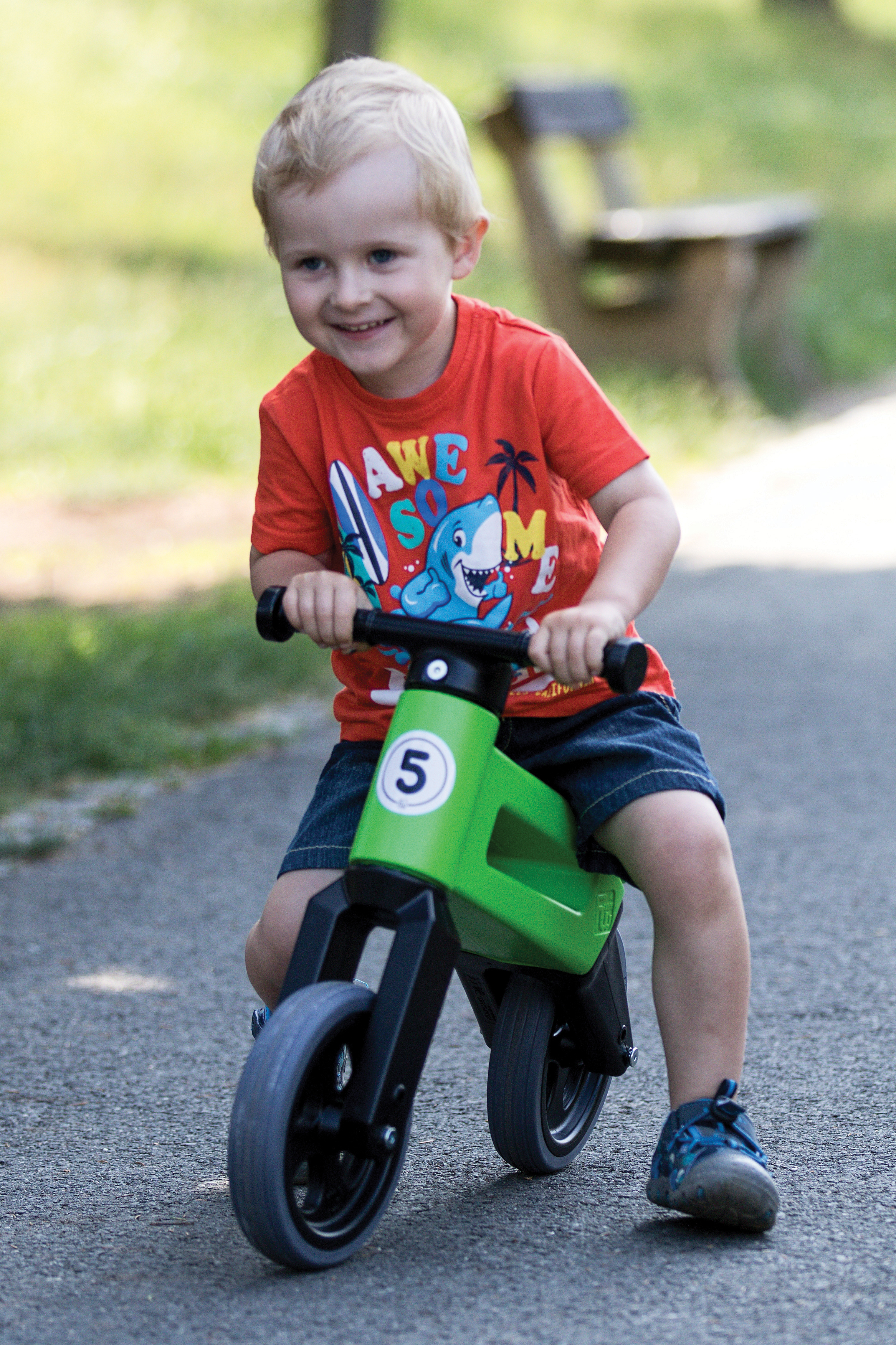Free Wheelin' Rider Sport Convertible Balance Bike