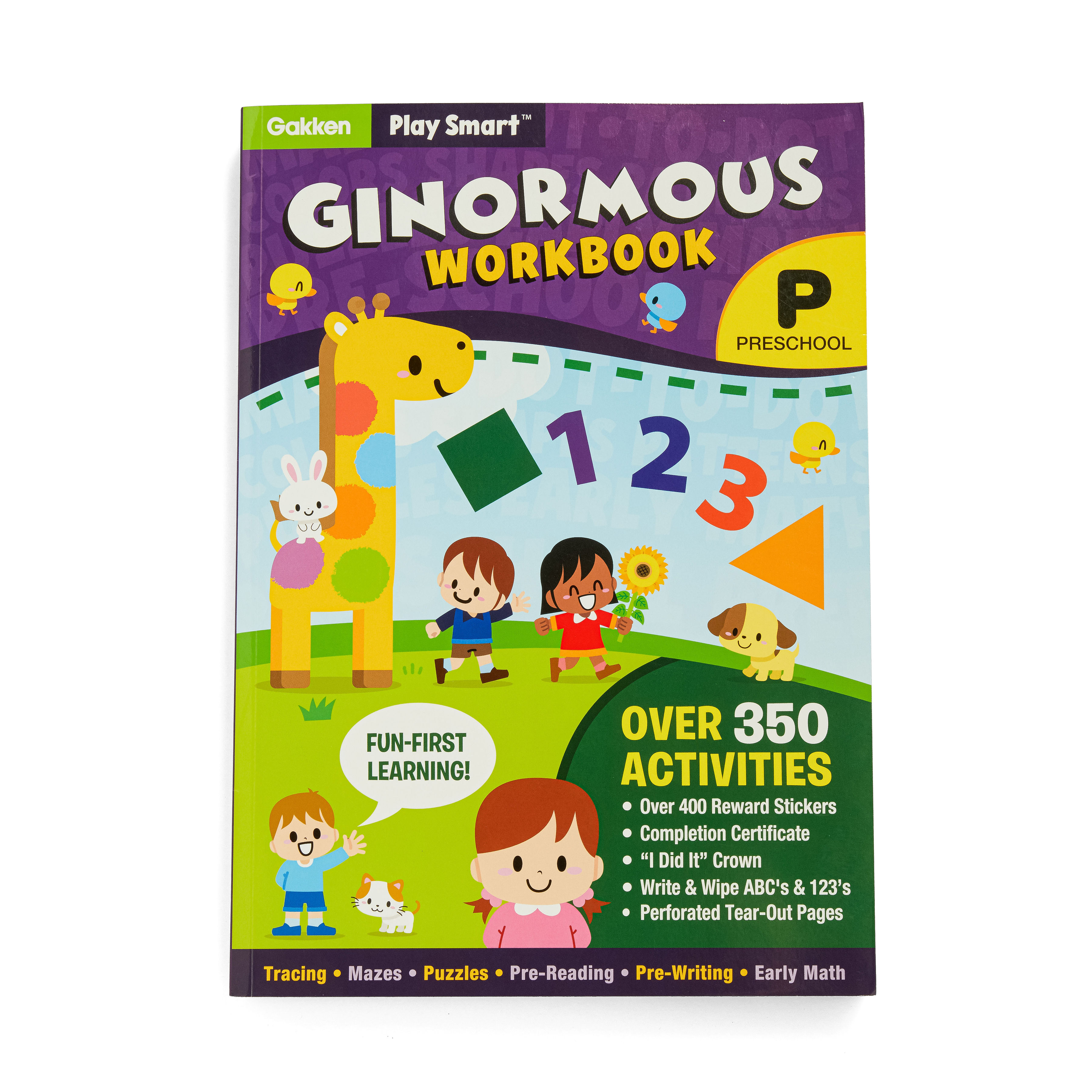 Play Smart Preschool Workbook Series