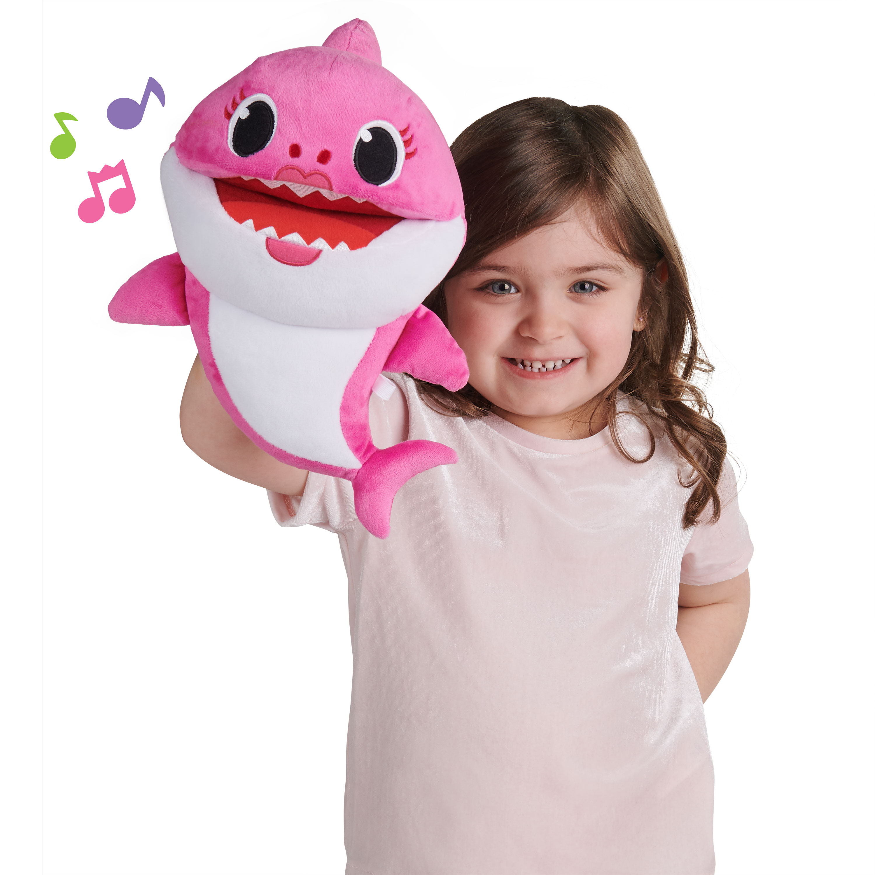 Pinkfong Baby Shark Song Puppets with Tempo Control