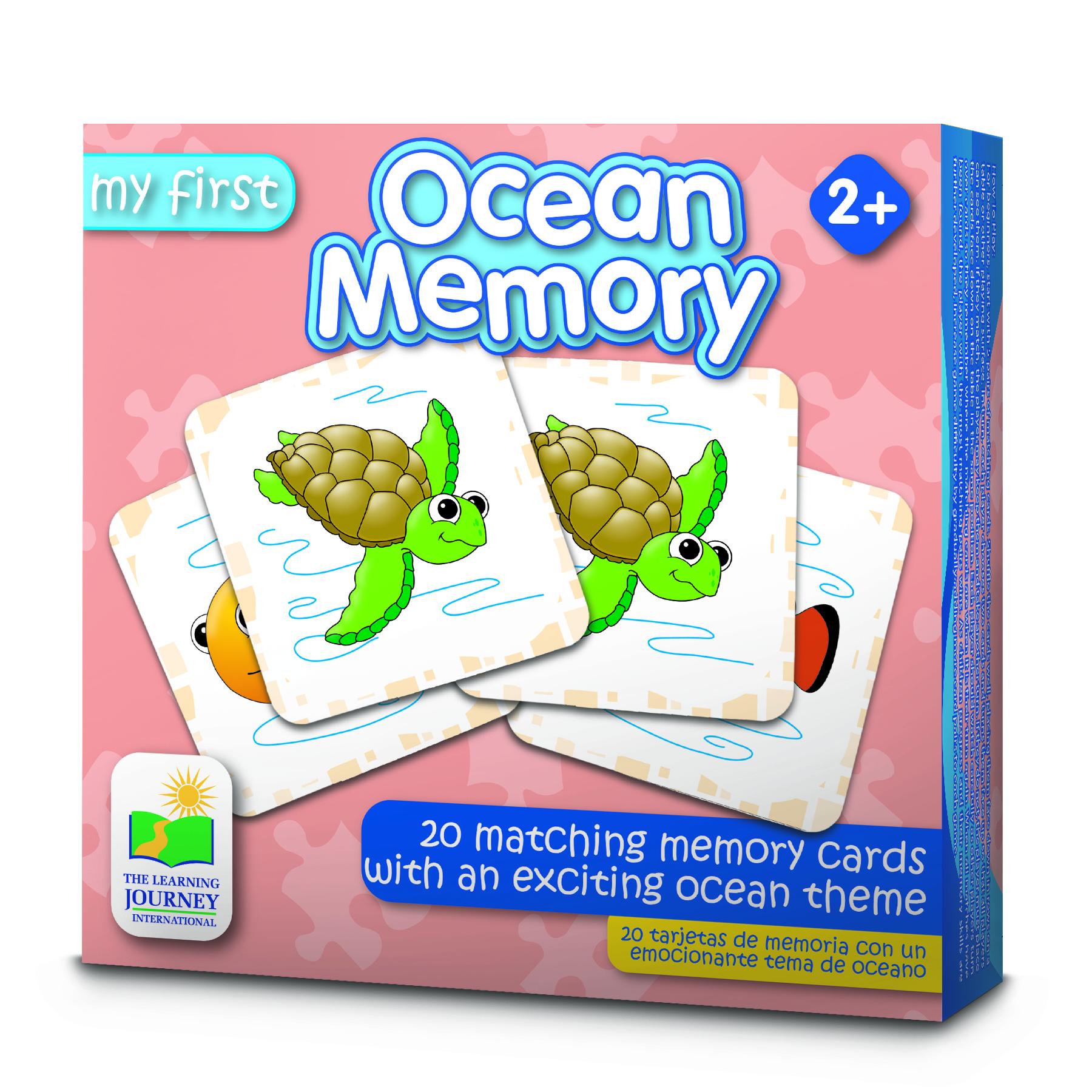 My First Memory Game Ocean