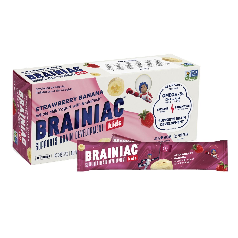 Braniac Kids Yogurt Tubes