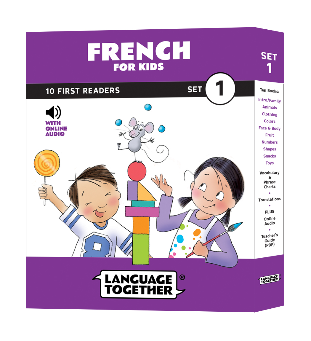 Language Together French for Kids Set 1