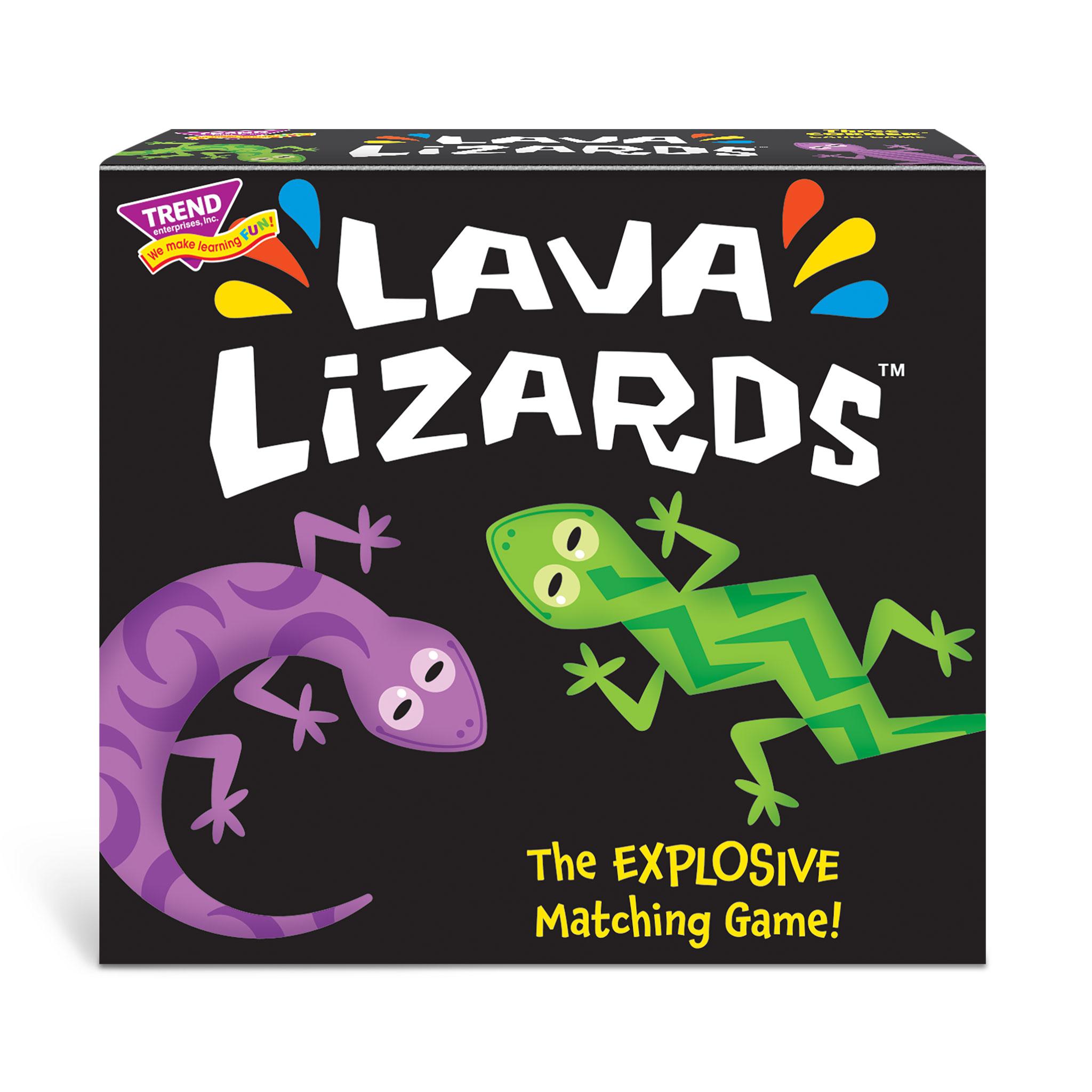 Lava Lizards™ Three Corner™ Card Game