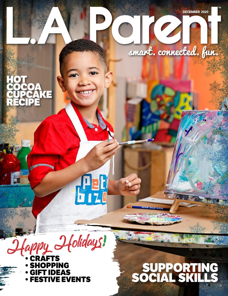 L.A. Parent celebrates the holidays and features NAPPA Award-winning gift ideas