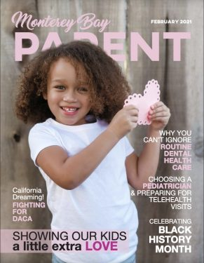 NAPPA Award winners featured in the February issue of Monterey Bay Parent