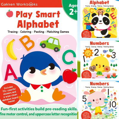 Play Smart Numbers and Alphabet Series_Ages 2 and 3