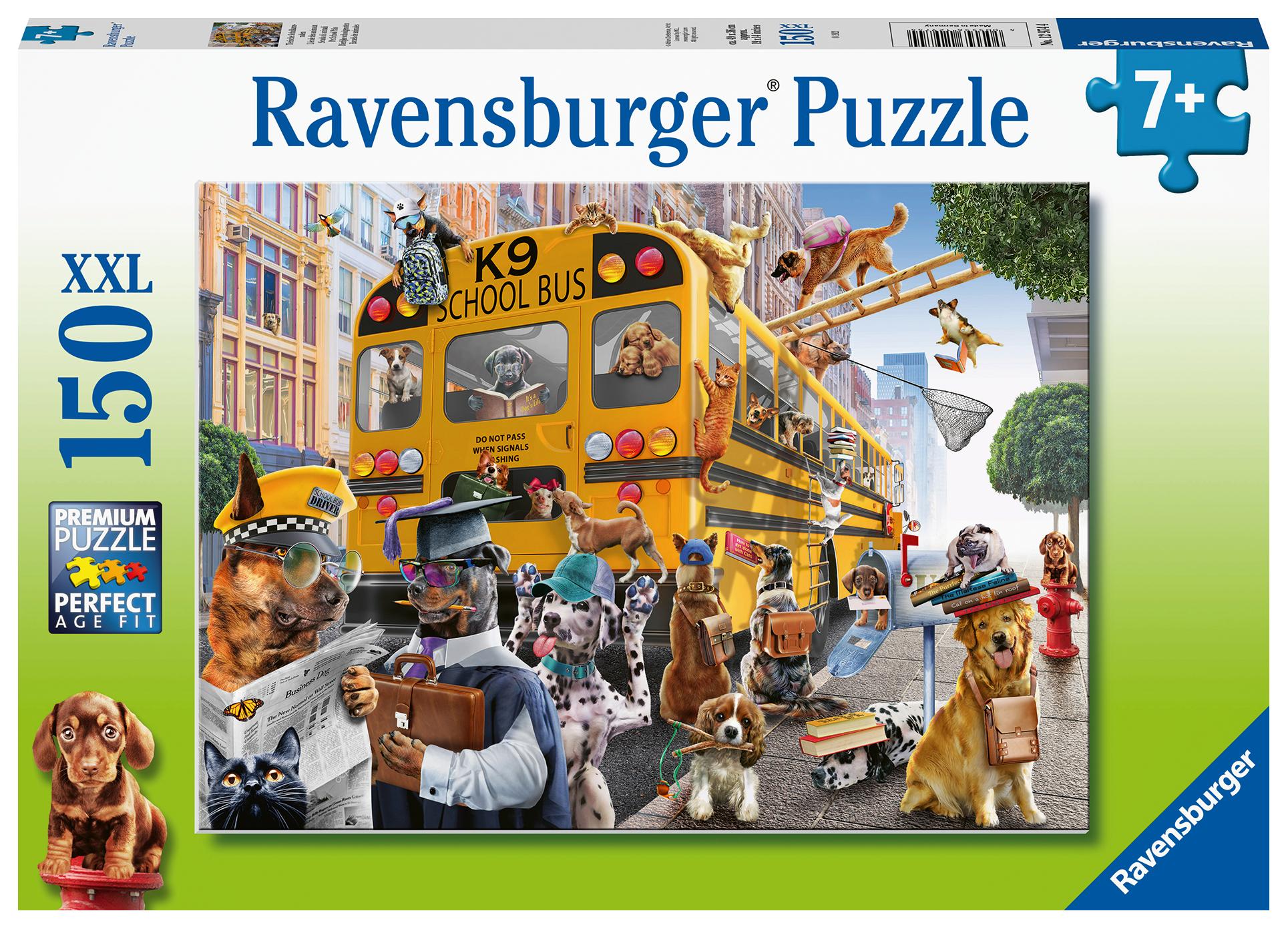 Pet School Pals 150-piece Puzzle