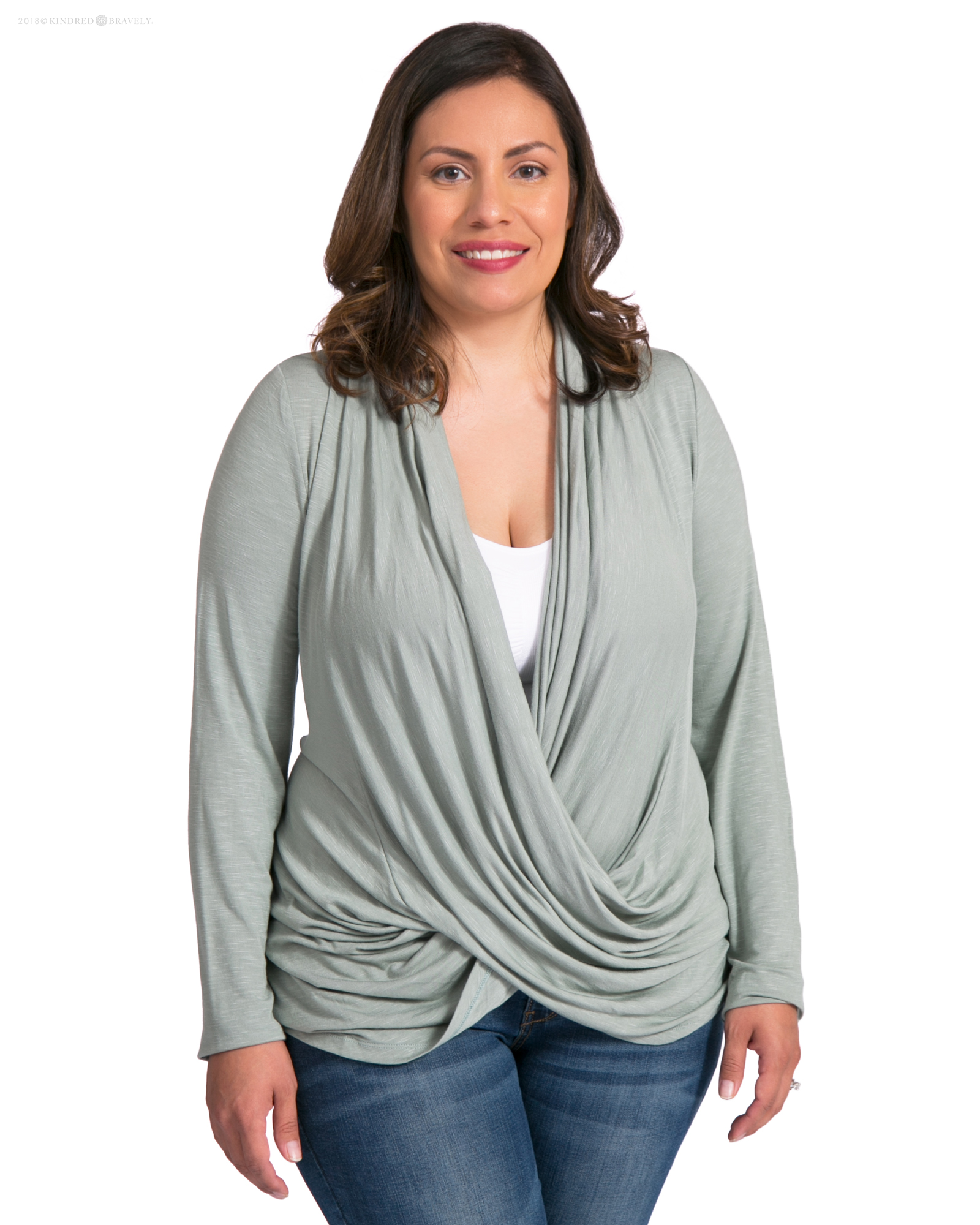 The Clara Criss Cross Nursing Top